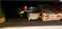 Estate Cabinet lot Household & Collectibles #3