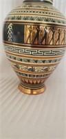 Beautiful metal italian vase