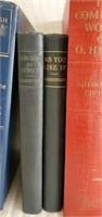 Estate lot of 8 Misc Antique Books