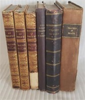 Lot of various vintage books