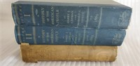 Estate Lot of 3 Misc Antique Books about America