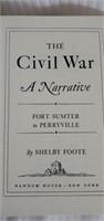3 Civil War Random House Books by Shelby Foote