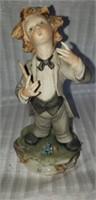 Beautiful porcelain Capodimonte figurine
