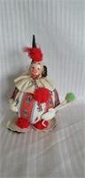 Vintage rubber clown