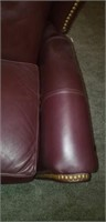 Beautiful leather lounge chair