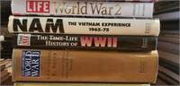 Estate lot of war books