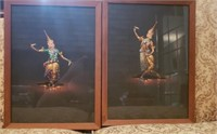 Pair of beautiful decor pictures