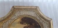 Set of 3 wood wall decor