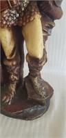 Beautiful viking statue