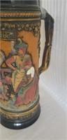 Beautiful vintage mug stein