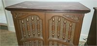Beautiful wood cintage nightstand
