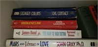 Estate lot of James bond and more books