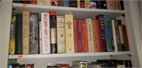 Estate lot of a shelf of books