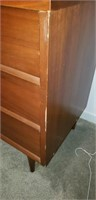Beautiful mid centry modern 9 drawer dresser