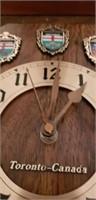 Toronto-Canada vintage style clock