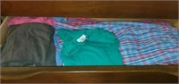 Chest of drawers full of womens winter clothes