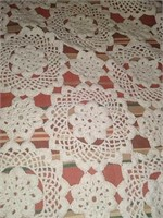 Vintage set of 3 table covers