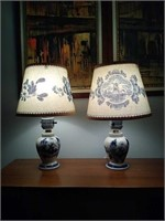 Beautiful vintage side table lamps