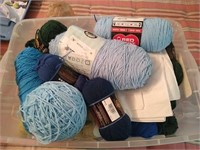 Estate lot of yarn
