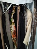 Lot of men and women clothes