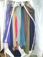 Estate lot of men's and women's clothing