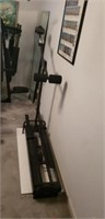 Performance track exercise machine