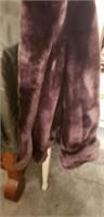 Beautiful womens fur coat