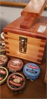 Vintage shoe cleaning/ shining kit