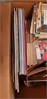 "Estate lot of 1971 ""The workbasket"" magazines, etc"