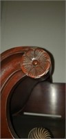 Antique 11 drawer high boy chest
