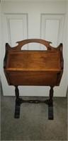 Vintage Wooden storage / sewing cabinet