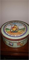 Winnie the pooh set of 3 rare hat boxes