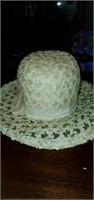 estate lot of 3 vintage women's hats