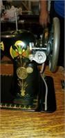 Beautiful Vintage Sewing Machine Table