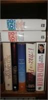 Bookshelf and all books