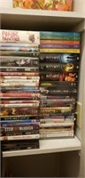 Approx 65 DVD's some are new in plastic