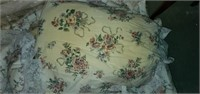 Vintage Floral Bedding Set - Blanket, Pillows, etc
