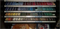 Huge estate lot of thread and a thread display