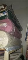 Estate lot of fabric