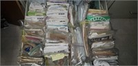 Estate lot of sewing clothing kits