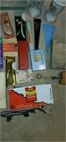 Estate Lot of Cards, Vases, Scissors, & Etc