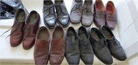 7 Pair of Men's Leather & Suede Dress Shoes