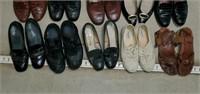 Estate Lot of 20 Ladies Shoes Size 8 - 8.5