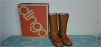 Pair of Male Dingo Leather Boots soze 10.5