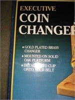 Coin change holder