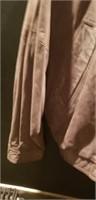 Leather large size silverado males jacket