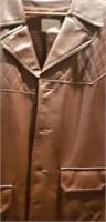 Mens large Fingerhut Fashions leather jacket