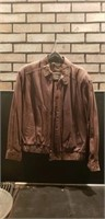 Mens size 42 Members only leather jacket