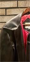 Mens large Weather Jac leather jacket
