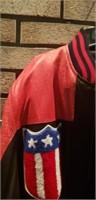 Mens medium alamos leather jacket